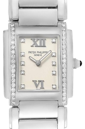 Preload https://img-static.tradesy.com/item/26156229/patek-philippe-silver-twenty-4-diamond-quartz-ladies-491010a-010-watch-0-1-540-540.jpg