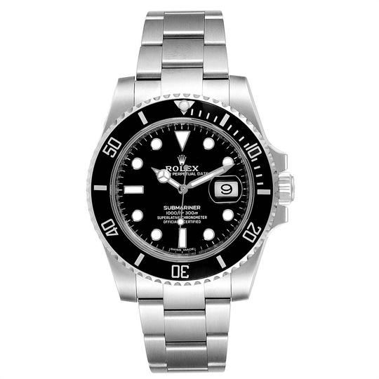 Rolex Rolex Submariner 40 Cerachrom Bezel Black Dial Watch 116610 Unworn Image 1