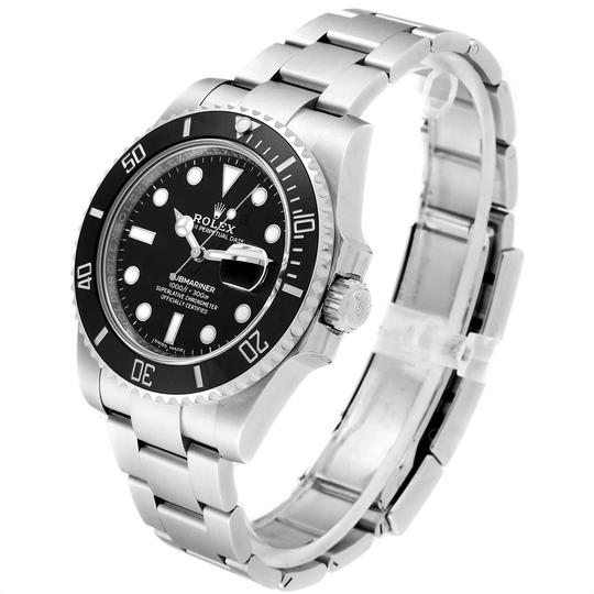 Rolex Rolex Submariner 40 Cerachrom Bezel Black Dial Watch 116610 Unworn Image 3