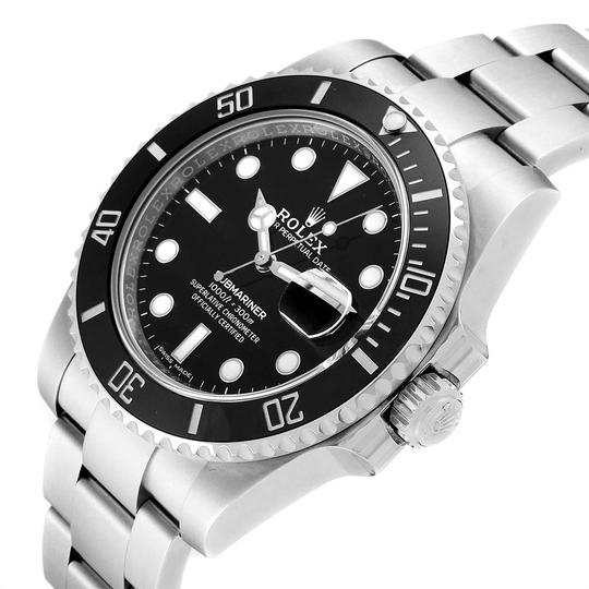 Rolex Rolex Submariner 40 Cerachrom Bezel Black Dial Watch 116610 Unworn Image 4