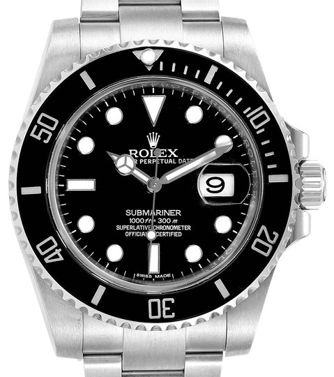 Preload https://img-static.tradesy.com/item/26156266/rolex-black-submariner-ceramic-bezel-dial-steel-mens-116610-watch-0-1-540-540.jpg