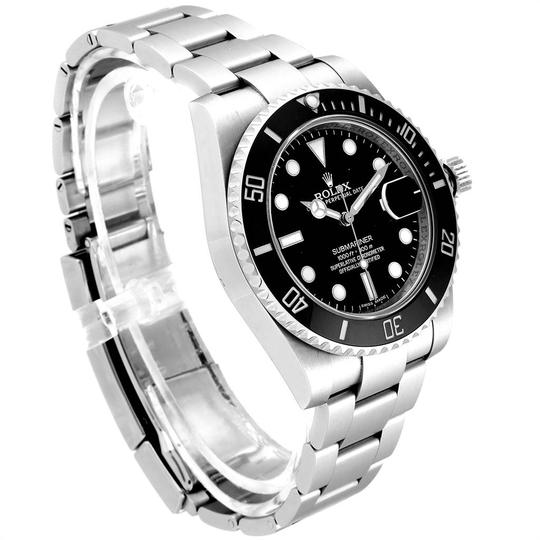 Rolex Rolex Submariner Ceramic Bezel Black Dial Steel Mens Watch 116610 Image 2