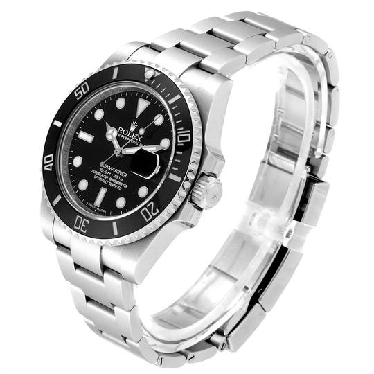 Rolex Rolex Submariner Ceramic Bezel Black Dial Steel Mens Watch 116610 Image 3