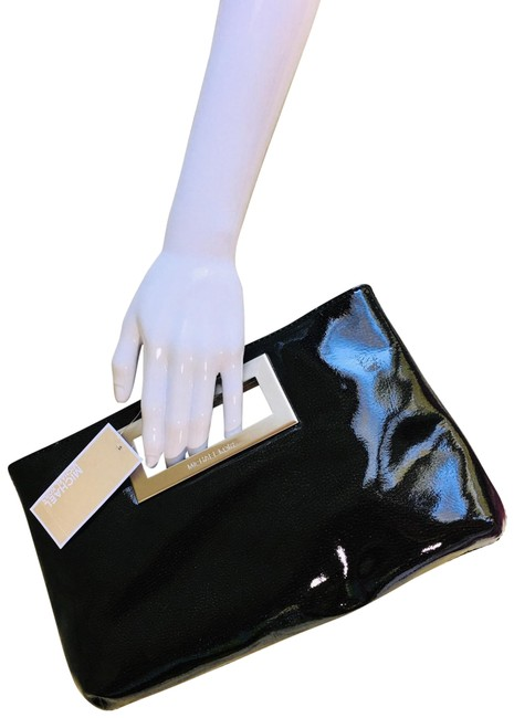 Item - Large Sparkly Black Patent Leather Clutch