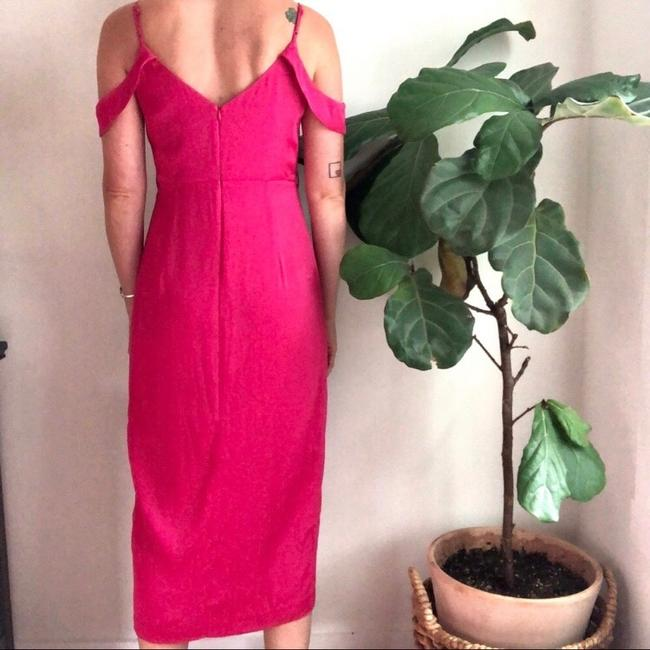 pink Maxi Dress by Bardot Image 3