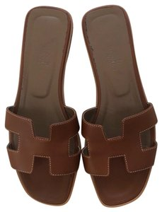 Hermès brown Sandals