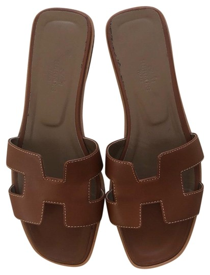 Preload https://img-static.tradesy.com/item/26156293/hermes-brown-sandals-size-eu-375-approx-us-75-regular-m-b-0-1-540-540.jpg
