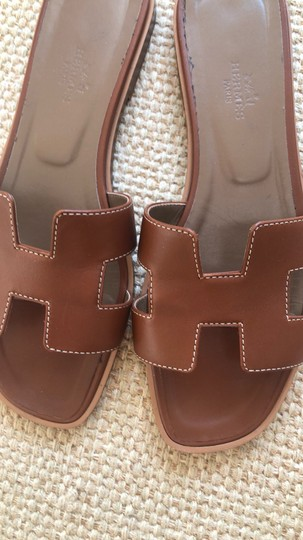 Hermès brown Sandals Image 1