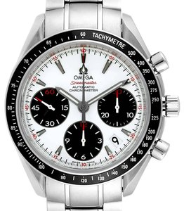 Omega Omega Speedmaster Day Date White Dial Watch 323.30.40.40.04.001