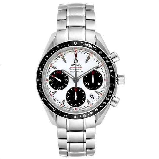 Omega Omega Speedmaster Day Date White Dial Watch 323.30.40.40.04.001 Image 1