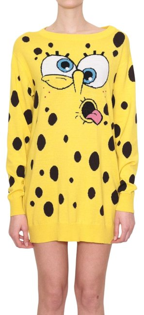 Item - Sold Out Couture Sponge Bob Lightweight Yellow Sweater