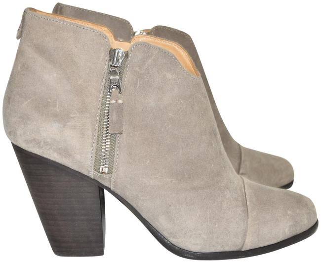 Item - Waxed Suede Leather Grey Margot Ankle (M31) Boots/Booties Size EU 41 (Approx. US 11) Regular (M, B)