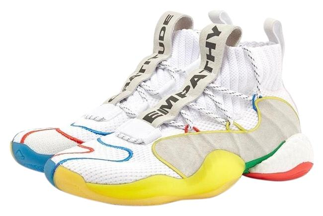 Item - White Crazy Byw Lvl X Sneakers Size US 7 Regular (M, B)