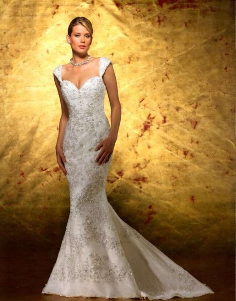 Forever Yours International Ivory Beaded Organza Mermaid