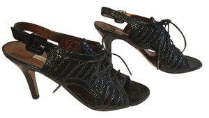 Twelfth St. by Cynthia Vincent Cute Ties Black patent Sandals