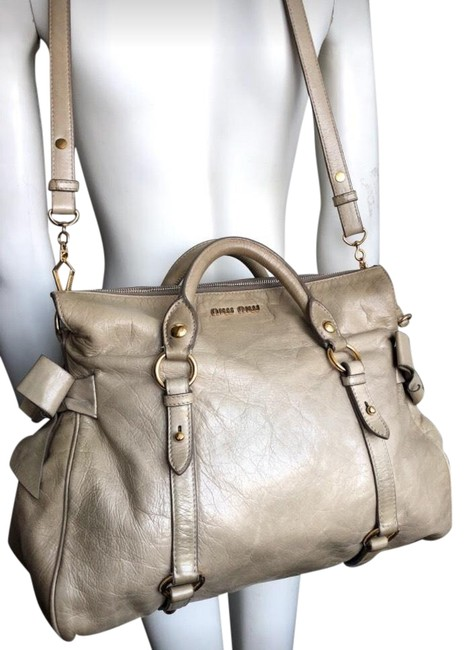 Item - Tan Leather Backpack