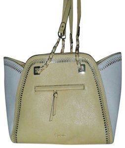 Jessica Simpson Tote in Buttercup and Creme