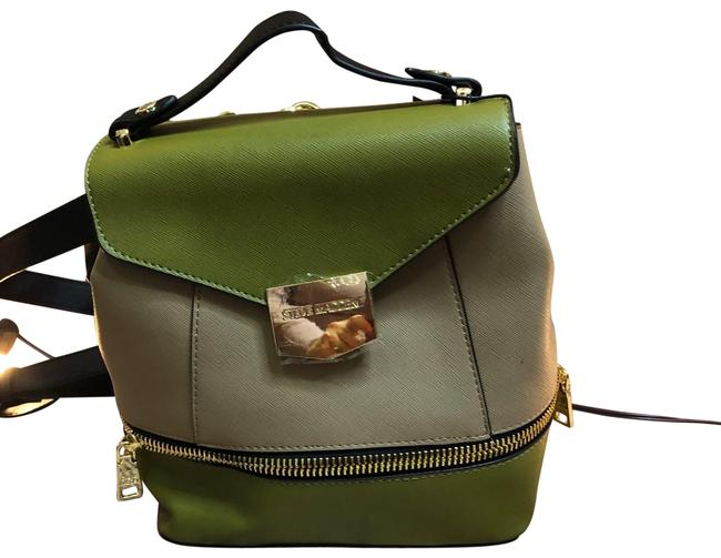 Item - Cute Take On A Olive Leather Backpack