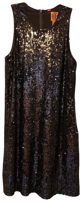 Item - Brown Chocolate Sequin Tunic Short Night Out Dress Size 2 (XS)