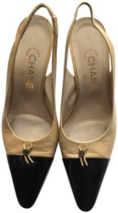 Chanel Classy Elegant Leather Nude Formal