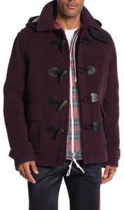 Burberry Jacket Wool Duffle Pea Coat