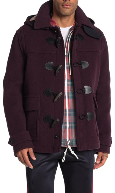 Preload https://img-static.tradesy.com/item/26159235/burberry-dark-blackcurrant-duffle-mens-wool-jacket-black-large-coat-size-12-l-0-1-650-650.jpg