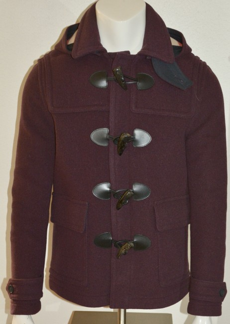 Burberry Jacket Wool Duffle Pea Coat Image 1