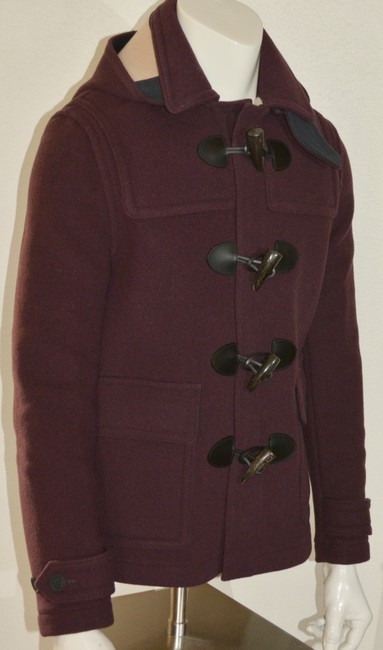 Burberry Jacket Wool Duffle Pea Coat Image 4