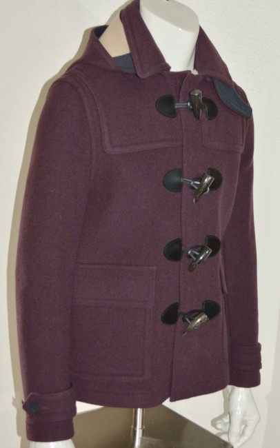 Burberry Jacket Wool Duffle Pea Coat Image 6