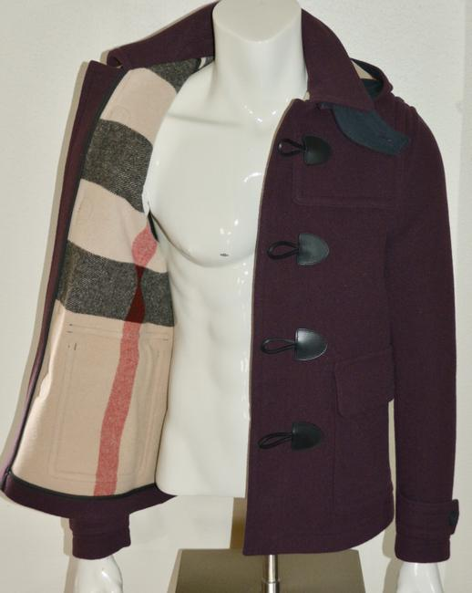 Burberry Jacket Wool Duffle Pea Coat Image 7