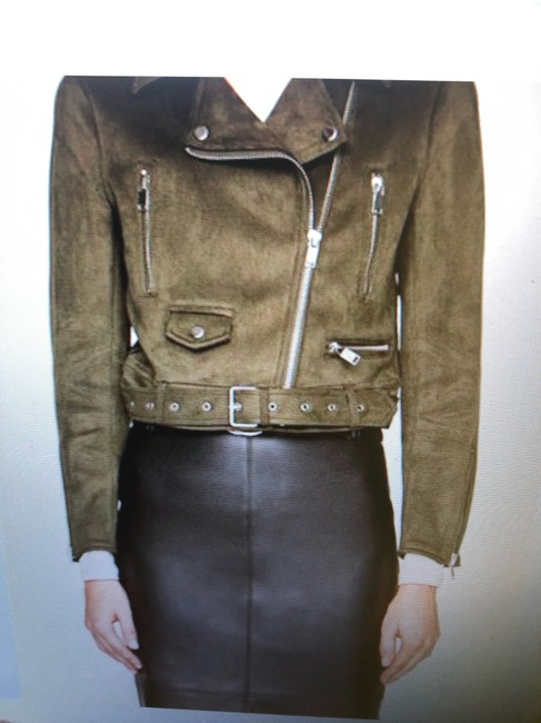 Zara Motorcycle Jacket Image 1