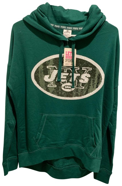 Item - Green Nfl Collection Ny Jets Sweatshirt/Hoodie Size 2 (XS)