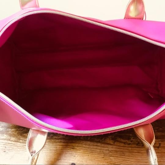 Juicy Couture Duffel Pink Gold Travel Bag Image 2