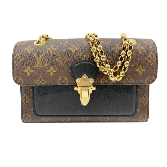 Preload https://img-static.tradesy.com/item/26159300/louis-vuitton-victoire-noir-chain-black-monogram-canvas-and-calfskin-shoulder-bag-0-0-540-540.jpg