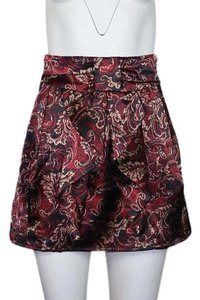 Alloy Apparel Mini Skirt Burgundy