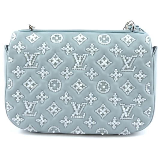 Louis Vuitton Monogram Metis Mama Perles Leather Shoulder Bag Image 2