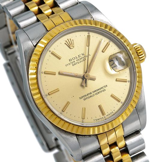 Rolex Rolex Lady-Datejust 68273 31MM Champagne Dial With Yellow Gold Jubilee Image 2