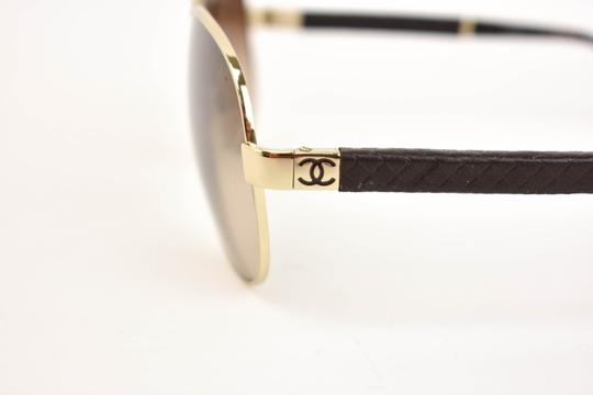 Chanel Metal & Quilted Leather