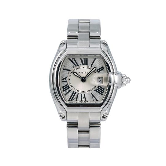 Preload https://img-static.tradesy.com/item/26159394/cartier-silver-roadster-w62016v3-32mm-dial-with-stainless-steel-bracel-watch-0-0-540-540.jpg