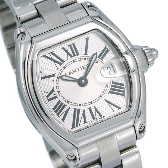Cartier Cartier Roadster W62016V3 36MM Silver Dial With Stainless Steel Bracel Image 2
