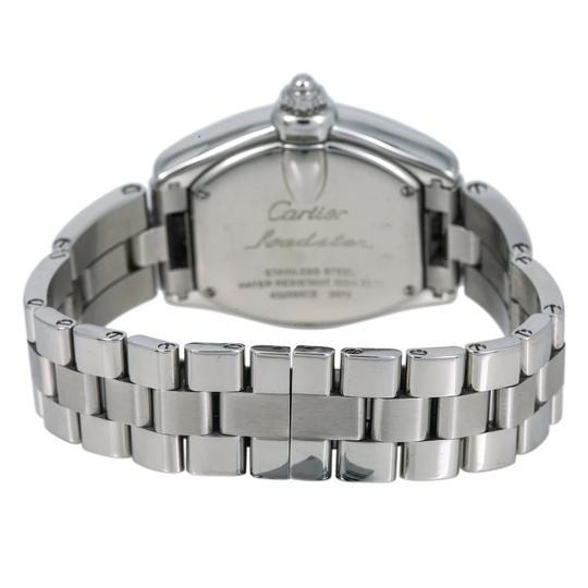 Cartier Cartier Roadster W62016V3 36MM Silver Dial With Stainless Steel Bracel Image 4