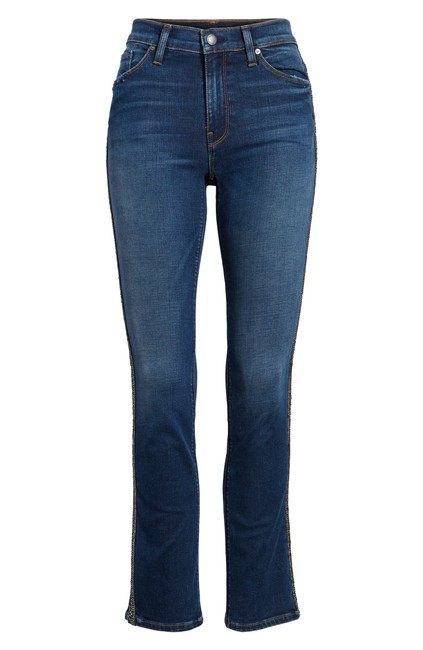 7 For All Mankind Skinny Jeans-Dark Rinse Image 3
