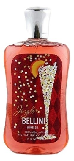 Bath and Body Works BATH & BODY WORKS JINGLE BELLINI SHOWER GEL NEW YEARS HOLIDAY Image 1