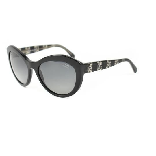 Preload https://img-static.tradesy.com/item/26159479/chanel-black-lace-and-cc-logo-polarized-is-sunglasses-0-0-540-540.jpg