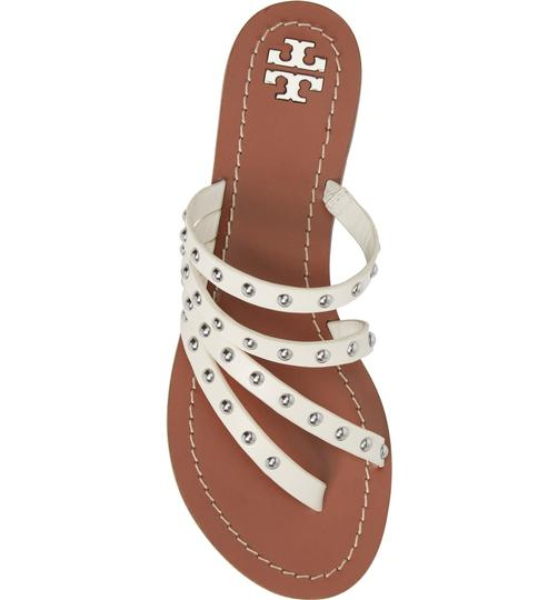 Tory Burch Casual Chic White Sandals Image 2