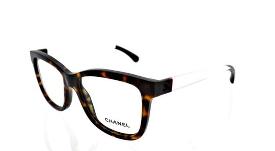 Preload https://img-static.tradesy.com/item/26159516/chanel-clear-brown-havana-ch-3272-c714-52mm-square-eyeglasses-rx-frames-italy-0-0-540-540.jpg