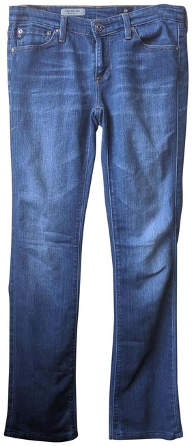 Preload https://img-static.tradesy.com/item/26159534/ag-adriano-goldschmied-blue-medium-wash-the-ballad-slim-boot-cut-jeans-size-27-4-s-0-1-650-650.jpg
