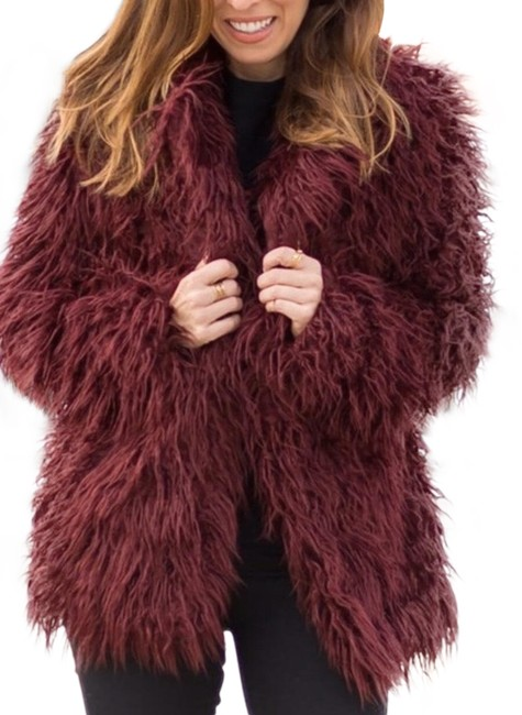 Preload https://img-static.tradesy.com/item/26159535/willow-and-clay-burgundy-faux-coat-size-10-m-0-1-650-650.jpg
