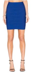 BCBGMAXAZRIA Mini Skirt Blue