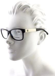 Chanel Chanel CH 3232-Q c.1348 54mm Patent Leather Eyeglasses RX Frames Italy